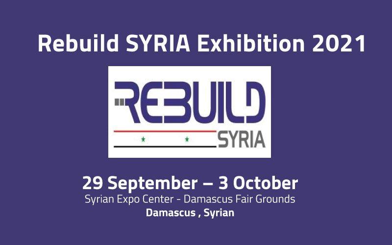Re-build Syria Exhibition