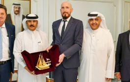 العذبة: 1.5 مليار يورو التبادل التجاري بين قطر وألمانيا