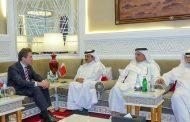 خليفة بن جاسم يبحث التعاون مع وزير صناعة وتجارة البارغواي
