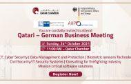 Qatari – German Business Meeting